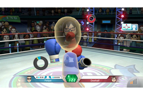 Wii Sports Club - Boxing: Online Game - YouTube