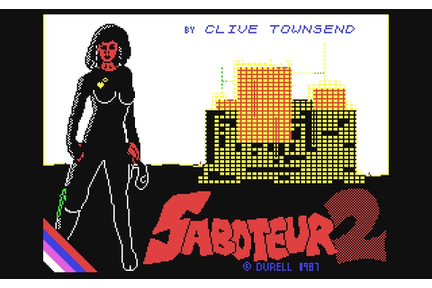 Saboteur II: Avenging Angel is a 1987 video game for the ...