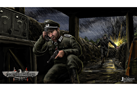 German Officer Concept Art image - Festung Europa - Indie DB