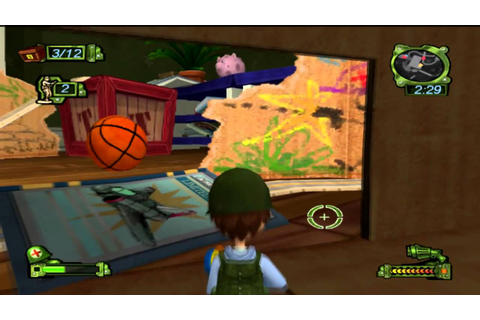 Army Men Soldiers of Misfortune - RomUlation Plays Wii ...