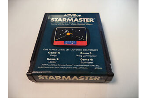 Starmaster by Activision (Atari 2600, 1982) Classic Game ...