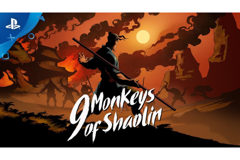 9 Monkeys of Shaolin - Announce Trailer | PS4 - YouTube