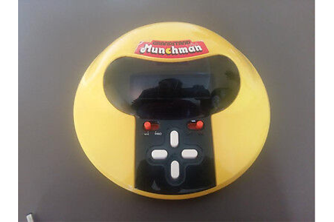 MUNCHMAN GAME - retro vintage 1980's handheld electronic ...