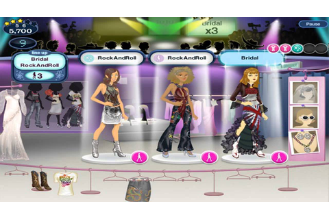 Barbie Fashion Show Dress Up Game Girl Games - YouTube