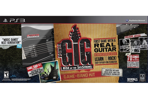 Power Gig: Rise of the SixString Band Kit - PlayStation 3 ...