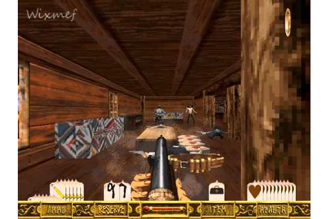 Outlaws (PC, 1997) - Level 1#: Slim's Hideout - YouTube