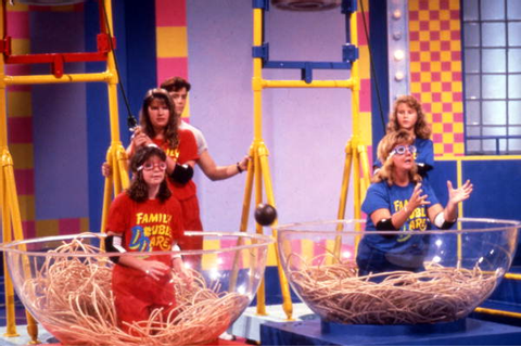 Florida Memory - Scene from the Family Double Dare game ...