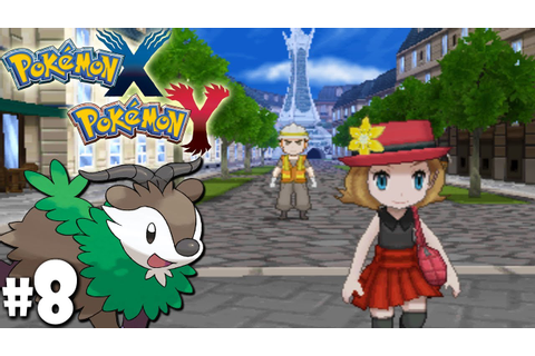 Pokemon X and Y Dual Gameplay Walkthrough: Lumiose City ...