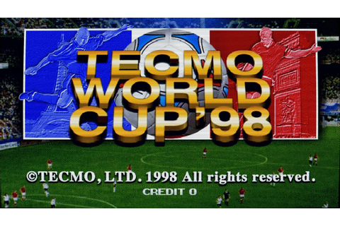 Tecmo World Cup 98 Intro (Arcade Game) - YouTube