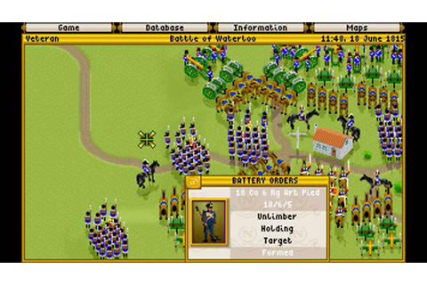 Fields of Glory - 2 GAMEPLAY [MICROPROSE 1993] [DOS] - YouTube