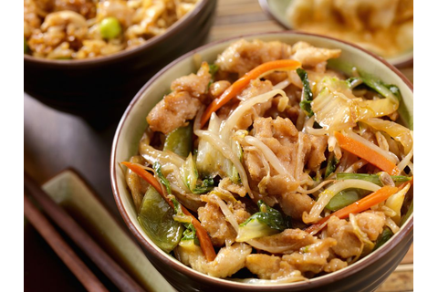 American Chicken Chop Suey Recipe with Ginger Root