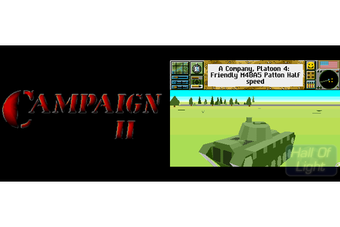 Campaign II : Hall Of Light – The database of Amiga games