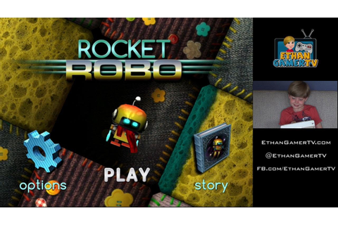 ROCKET ROBO!! Ethan plays Mobile Games - YouTube
