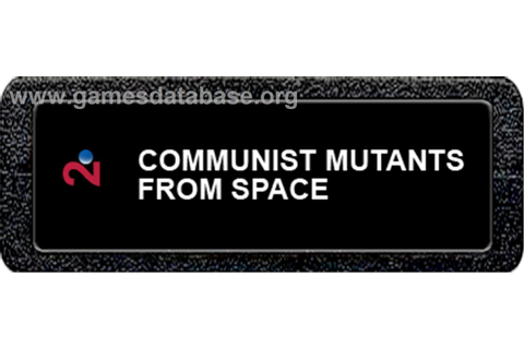 Communist Mutants from Space - Atari 2600 - Games Database