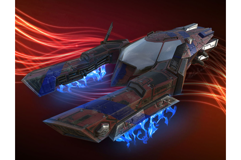 3d sci fi race vehicle model