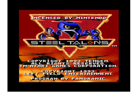 Steel Talons Download Game | GameFabrique