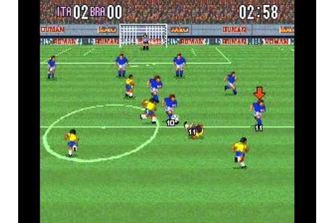 SNES Super Formation Soccer - YouTube