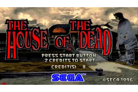 THE HOUSE OF THE DEAD 1 - ARCADE GAMEPLAY - 1080p SEGA ...