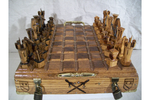 English Medieval Battle Chess set | It's Your Move ...