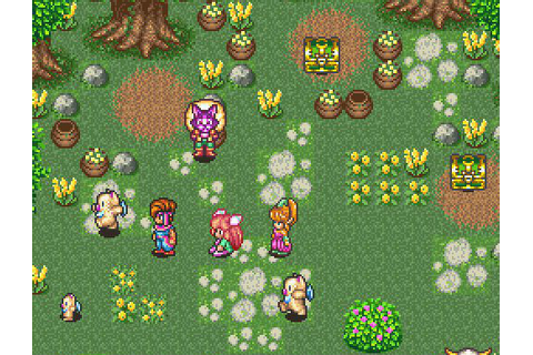 Super NES Classic Reviews Game by Game #10: Secret of Mana ...