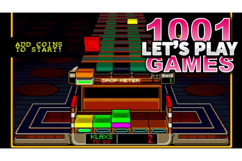 Klax (Arcade) - Let's Play 1001 Games - Episode 263 - YouTube