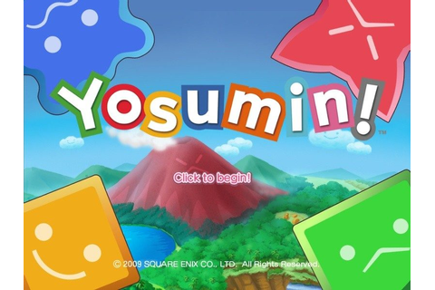 Yosumin! (2009) by Square Enix Windows game