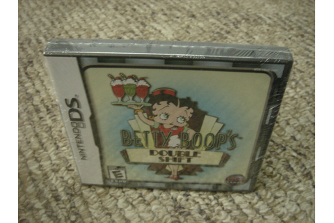 Betty Boop Double Shift (Nintendo DS) dsi NEW 802068101312 ...