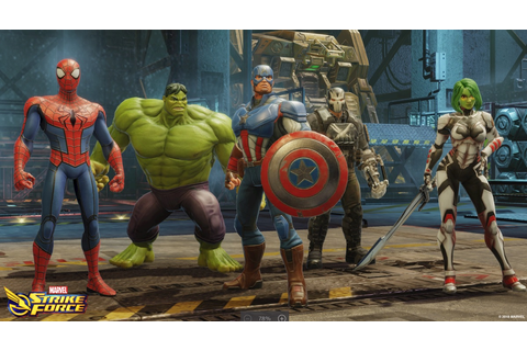FoxNext Games debuts Marvel Strike Force mobile squad ...