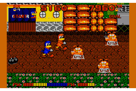 Dynamite Dux (1989) by Core Design Amiga game