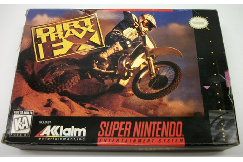 Dirt Trax FX, Box only, Super Nintendo