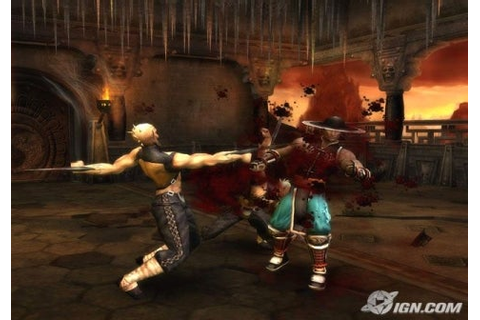 Mortal Kombat Shaolin Monks PC - PS2 free download ...