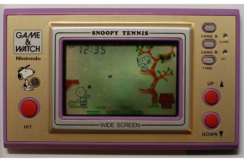 Nintendo Game&Watch Snoopy Tennis SP-30 (front) | Flickr ...