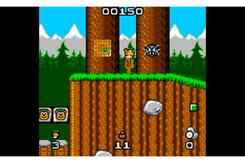 Play Yogi Bear in Yogi Bear's Goldrush (Proto) • Game Gear ...