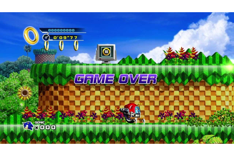 Sonic the Hedgehog 4: Episode I (XBLA) - Game Over - YouTube
