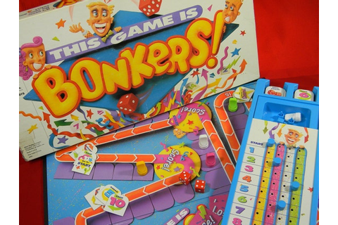 BONKERS Board Game 1989 by LillysLuckyPenny on Etsy