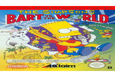 The Simpsons: Bart vs The World Part 1: This Will End Well ...