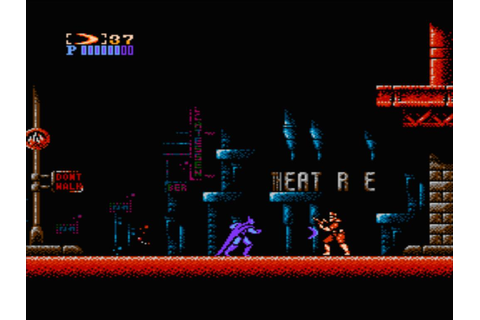 Batman - The Video Game (USA) (Beta) ROM