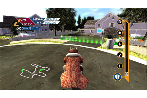 Burger King PocketBike Racer Backyard track Xbox 360 720P ...