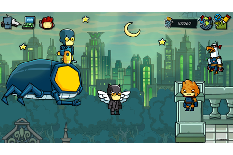 Scribblenauts Unmasked: A DC Comics Adventure Review – Wii ...