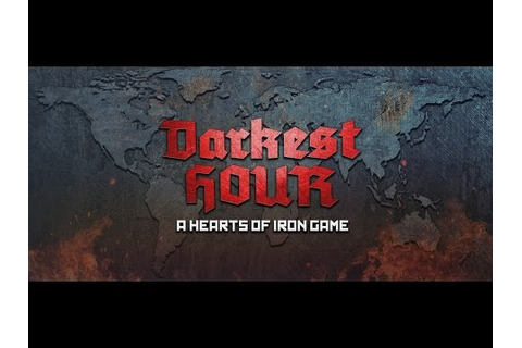 Darkest Hour: A Hearts of Iron Game on GOG.com