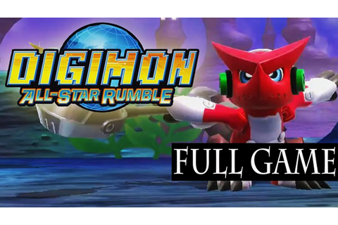 Digimon All Star Rumble Full Game Walkthrough / Complete ...