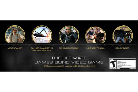 Activision celebrates 50 years of James Bond with 007 ...