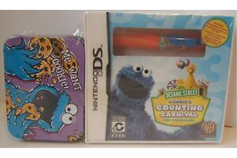 Cookie's Counting Carnival Sesame Street Nintendo DS Game ...