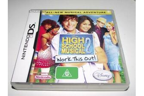 High School Musical 2 Work This Out Nintendo DS 2DS 3DS ...