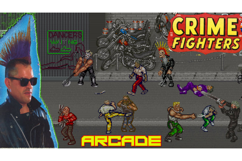 Crime Fighters Gameplay Good Old Games Arcade HD - YouTube