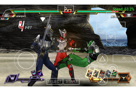 Download Kamen Rider Climax Heroes Fourze PSP PPSSPP ...