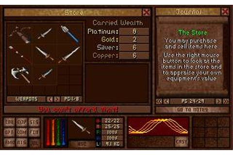 Amulets & Armor Download (1997 Role playing Game)