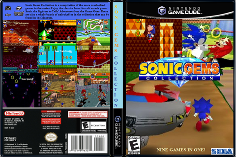 Sonic gems Collection gamecube download