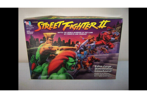 MY Street Fighter 2 Board Game by Milton Bradley - YouTube