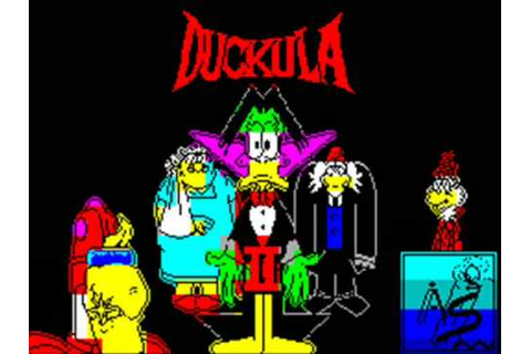 Count Duckula II Spectrum Title Music - YouTube
